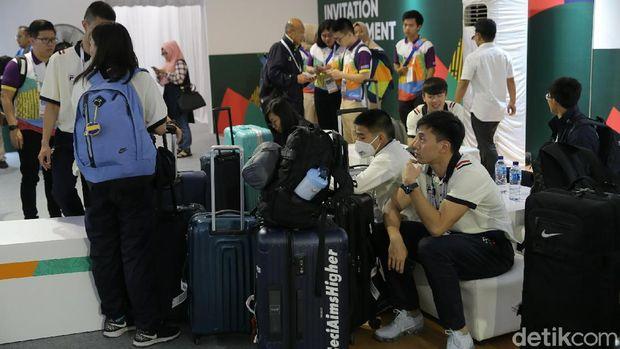 Peserta Test Event Mulai Berdatangan di Wisma Atlet Kemayoran