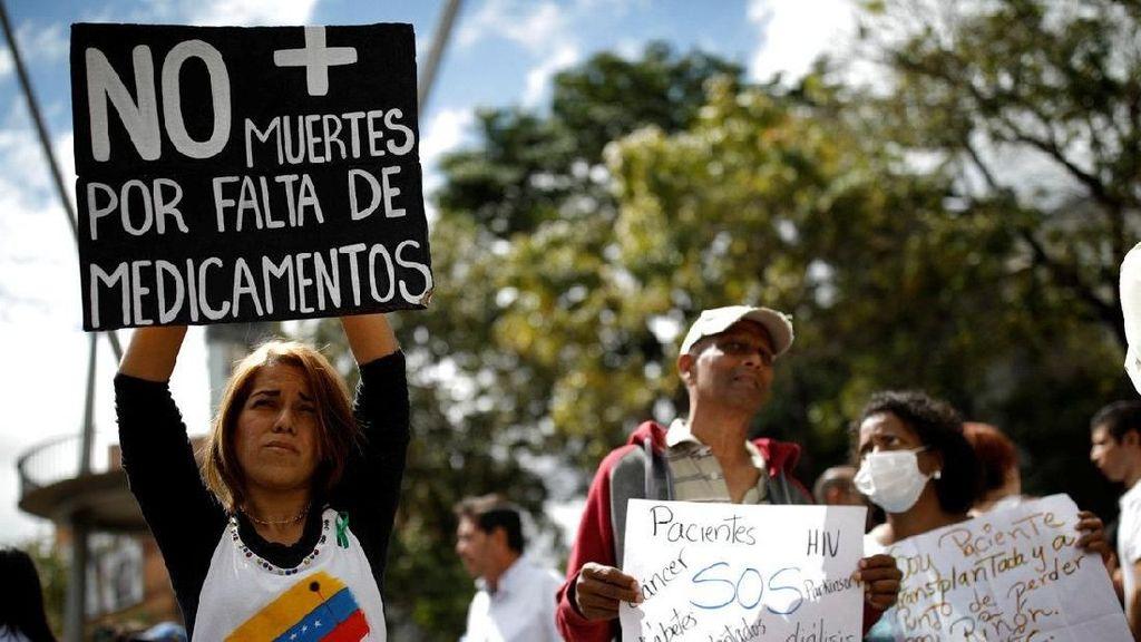 Dampak Krisis di Venezuela: Tak Ada Obat, Makanan dan Dokter