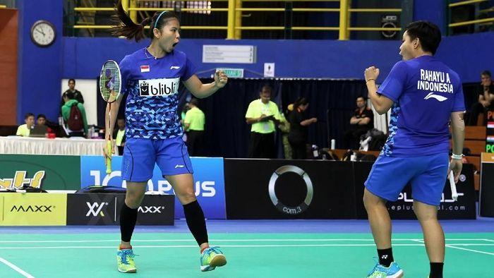 Tim putri Indonesia melaju ke semifinal Kejuaraan Bulutangkis Beregu Asia 2018 usai menang atas India (Foto: dok. Humas PBSI)