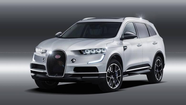 Unik, desain SUV Bugatti. Foto: Dok. Motor1