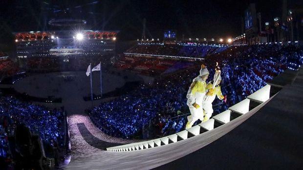 Olimpiade Musim Dingin Pyeongchang terkena serangan peretas saat pembukaan.