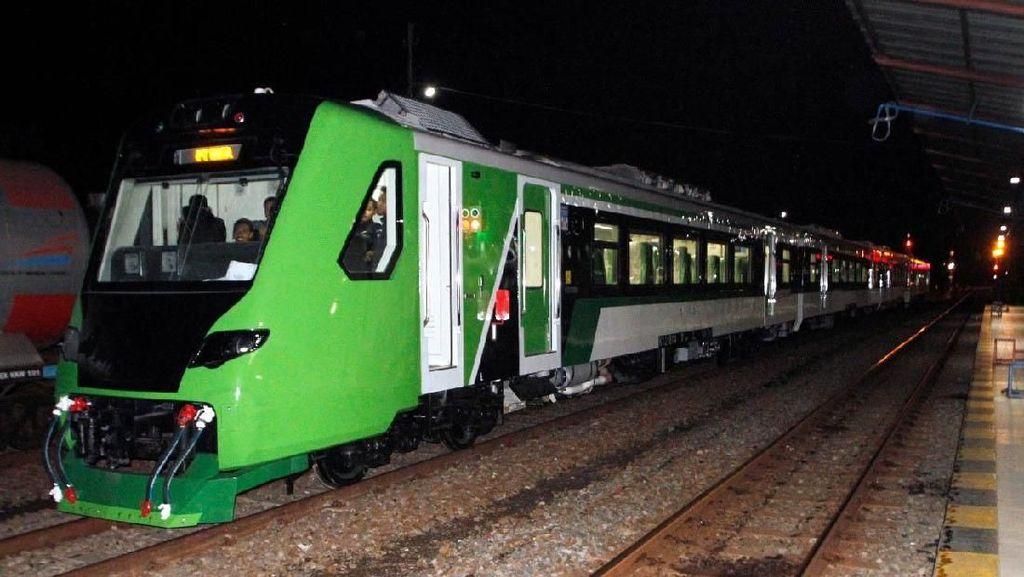 Beroperasi Perdana, Kereta Bandara Minangkabau Gratis 3 Hari