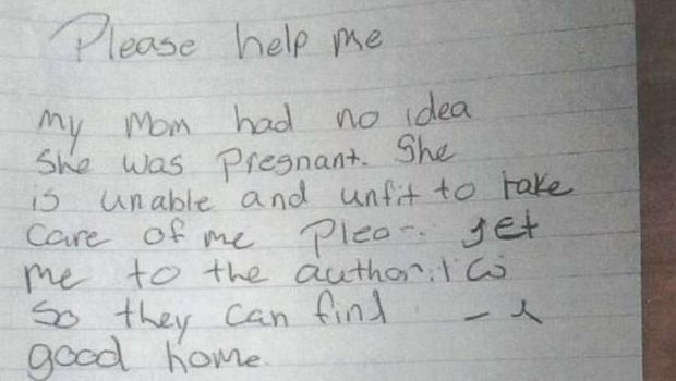 Surat dari ibu yang membuang bayinya di Bandara Tucson, America Serikat