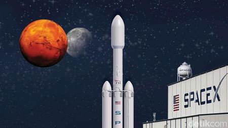 Falcon Heavy, Roket Terkuat Sejagat Saat Ini