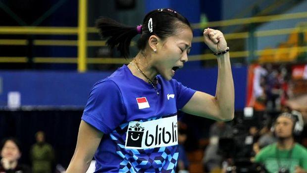 Thailand Masters jadi gelar pertama Fitriani di 2019.