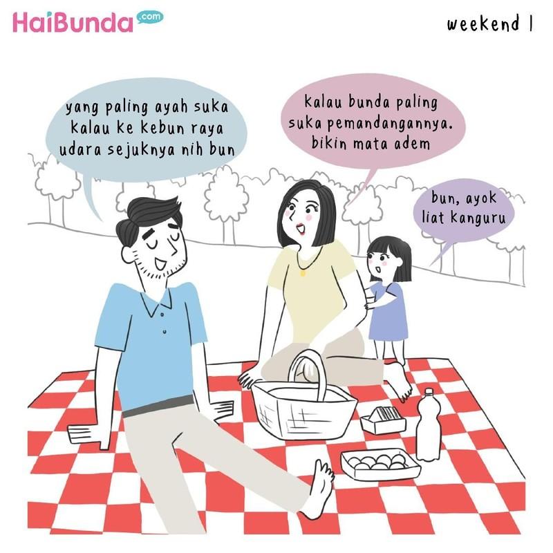 Di keluarga Bunda, family time-nya biasanya dengan melakukan apa sih, Bun? Yuk berbagi ceritanya di kolom komentar.
