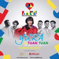 Romantis! Yura Yunita dan Reza Rahadian Nyanyikan 'Pekat' di LAFF Festival