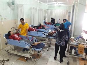 Puluhan Pelajar SMA Di Banyuwangi Keracunan Nasi Bungkus