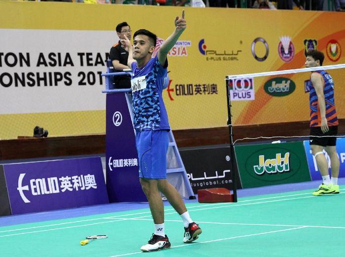 Firman Abdul Kholik di  Kejuaraan Bulutangkis Beregu Asia 2018
