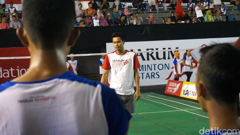 Aksi Tontowi/Liliyana cs Jadi Mentor Anak-Anak di Mataram