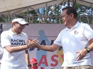 Sandiaga Uno Turun Langsung Kenalkan Sudrajat-Syaikhu di Bandung
