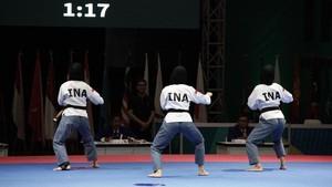 Taekwondo Raih 5 Emas dan 2 Perak di Hari Pertama Test Event