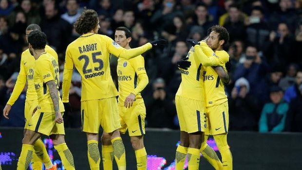 PSG akan menjadi ujian pertama Real Madrid di fase gugur Liga Champions. (