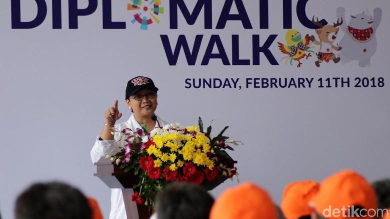 Menlu Retno: Ayo Bersinergi di Asian Games 2018, Energy of Asia