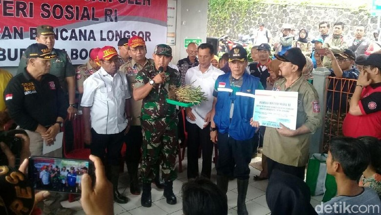 Mensos Idrus Minta Kampung Siaga Bencana di Bogor Ditambah