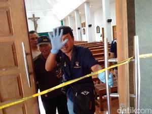 Polisi: Penyerang Gereja di Sleman Pindah-pindah Tempat Tinggal