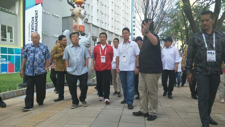 Wapres JK Tanggapi Keluhan Atlet Asing soal Kemacetan Jakarta