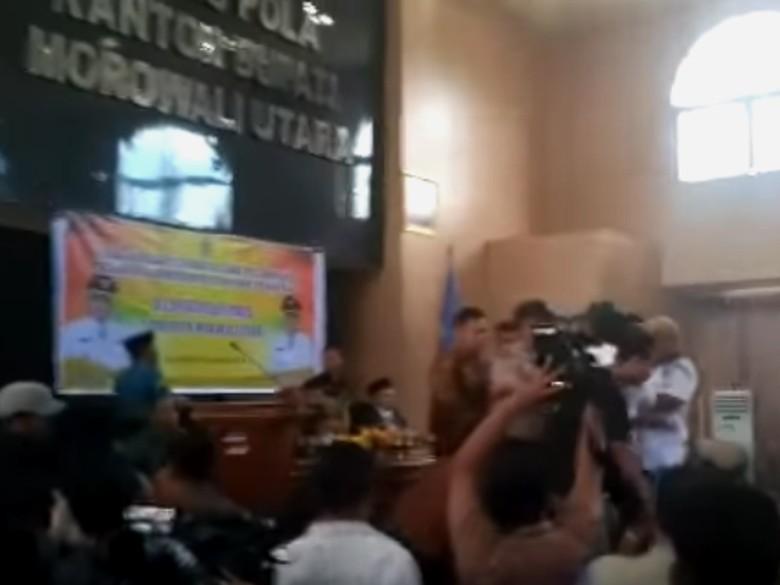 Wabup Morowali Utara Ngamuk di Pelantikan Pejabat, Kemendagri: Langgar Etika