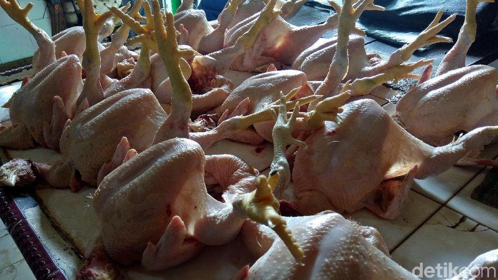 Cek Pasar di DKI, Kemendag: Harga Daging Ayam & Cabai Naik