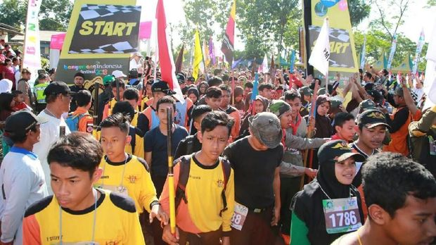 Sebanyak 1.500 warga dan wisatawan ikut Lider Adventure Festival