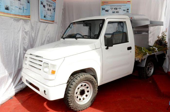 Begini salah satu wujud mobil pedesaan yang sedang dikembangkan oleh Kiat Motor. Dok. Kemenperin.