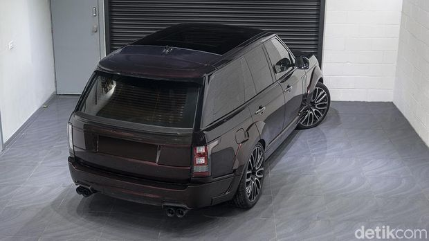 Range Rover 4,4 SDV8 Autobiography Pace Car