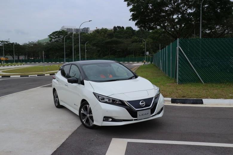 Nissan Leaf. Foto: Dina Rayanti
