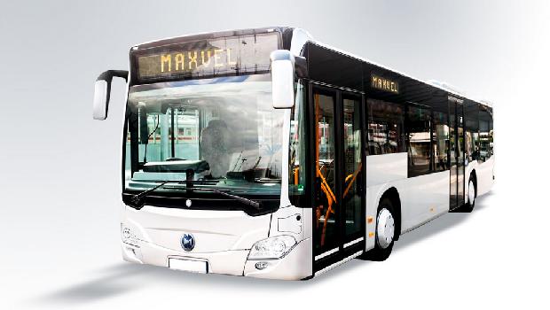 Bus listrik Mobil Anak Bangsa (MAB) Maxvel
