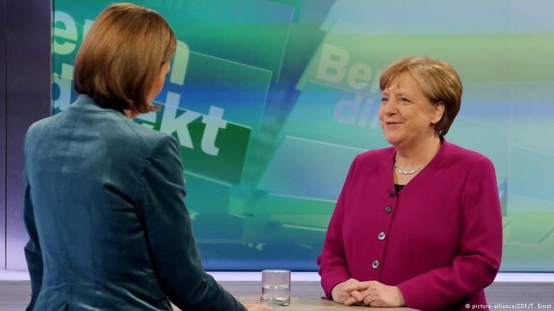 Kanselir Jerman Angela Merkel: Saya Akan Memerintah Empat Tahun Penuh
