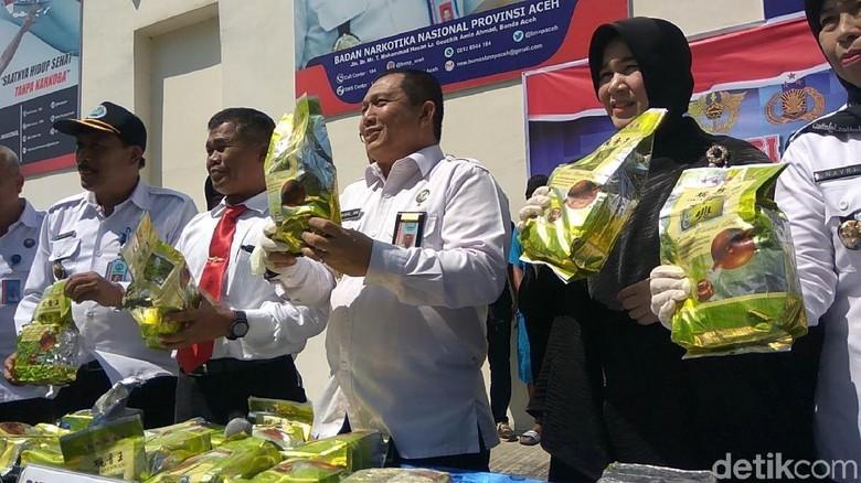 Tangkap DPO Sindikat Internasional, BNN Aceh Sita 20 Kg Sabu