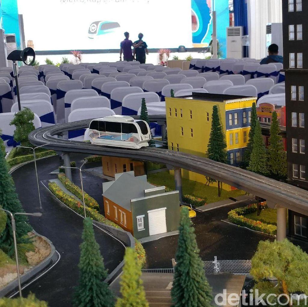 Tarif Mencekik, Pemkot Batalkan Lelang Proyek LRT Senilai Rp 3,2 T