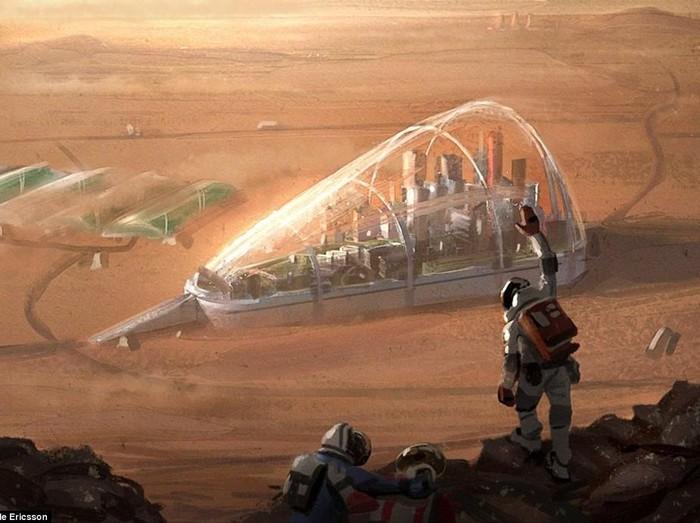 Gambaran Kolonisasi Manusia ke Mars yang Memukau Mata