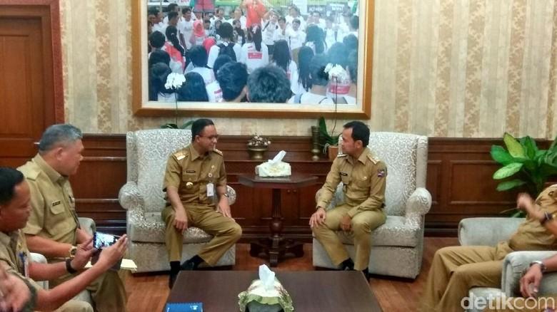 Anies Sambangi Kantor Wali Kota Bogor, Bima Arya: Ini Sejarah