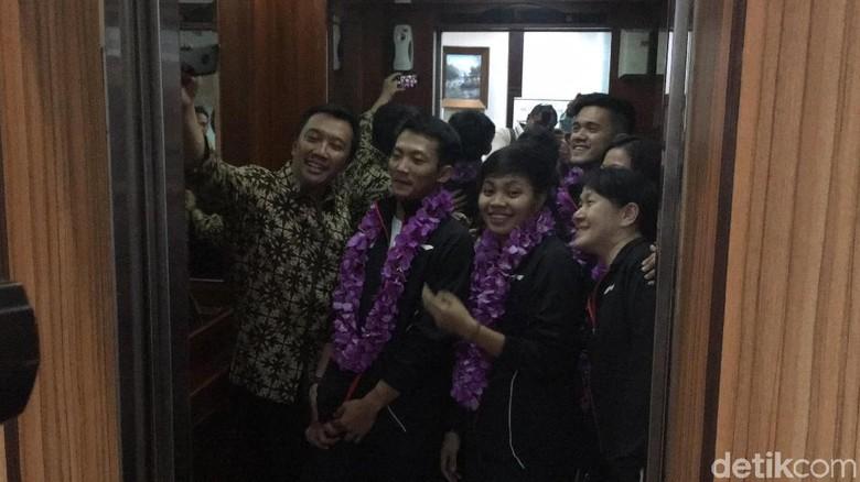 Sambut Juara Bulutangkis Beregu Asia, Menpora: Doanya Apa?