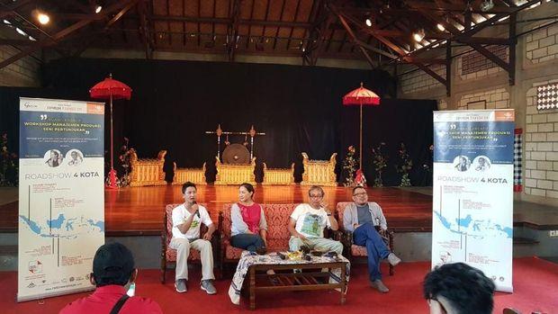 Minimnya Workshop Manajemen Produksi, Padepokan Seni Bagong Kussudiardja Gelar Tur