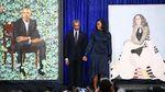 Lukisan Resmi Barack dan Michelle Obama Diungkap