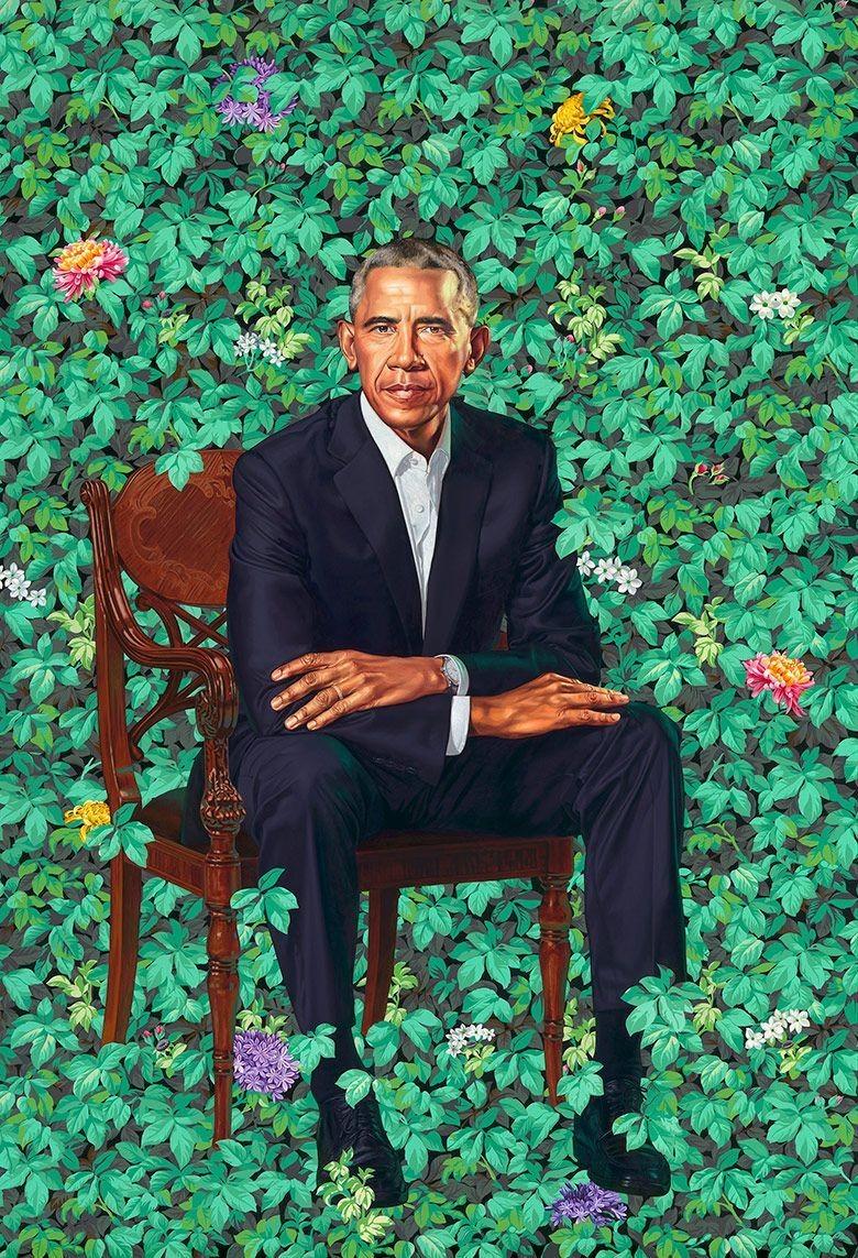 Bagi Kehinde Wiley, Melukis Barack Obama Adalah Tanggung Jawab Besar