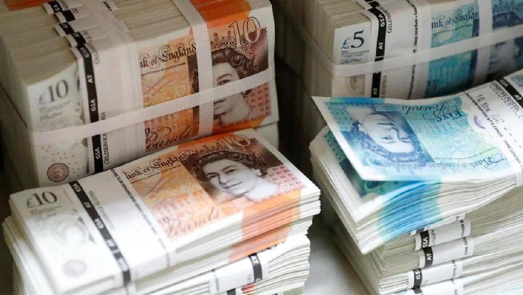 Inggris-Uni Eropa Mulai Baikan, Poundsterling Menguat 0,8%