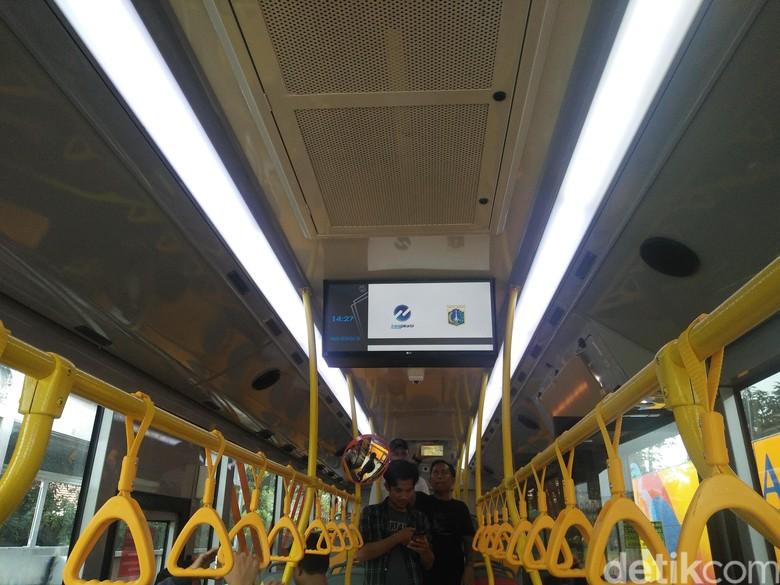 Bus baru TransJakarta. Foto: Khairul Imam Ghozali
