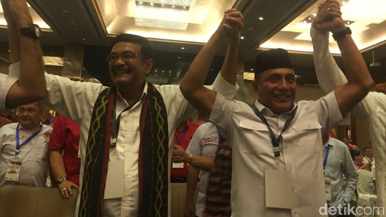 LSI Denny JA: Edy Rahmayadi-Musa 43,3%, Djarot-Sihar 33,3%
