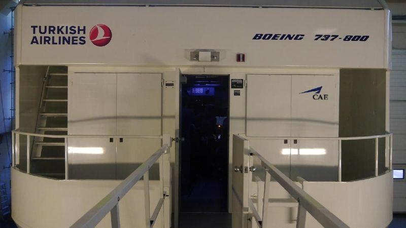 Flight simulator yang ada pun beragam, seperti flight simulator Boeing 737-800 (Kurnia/detikTravel)