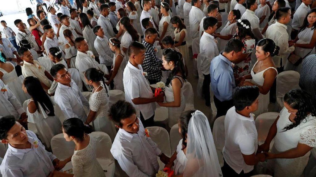 4.000 Pasangan Nikah Massal di Korea Selatan