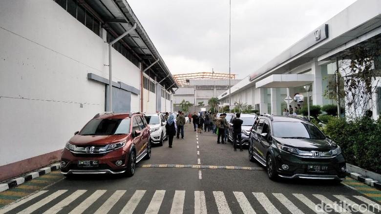 Perjalanan Honda BR-V Kembali Dimulai Foto: Ruly Kurniawan