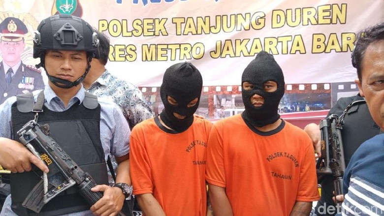 17 Kali Curi Motor, 2 Residivis Ini Ditangkap di Tanjung Duren