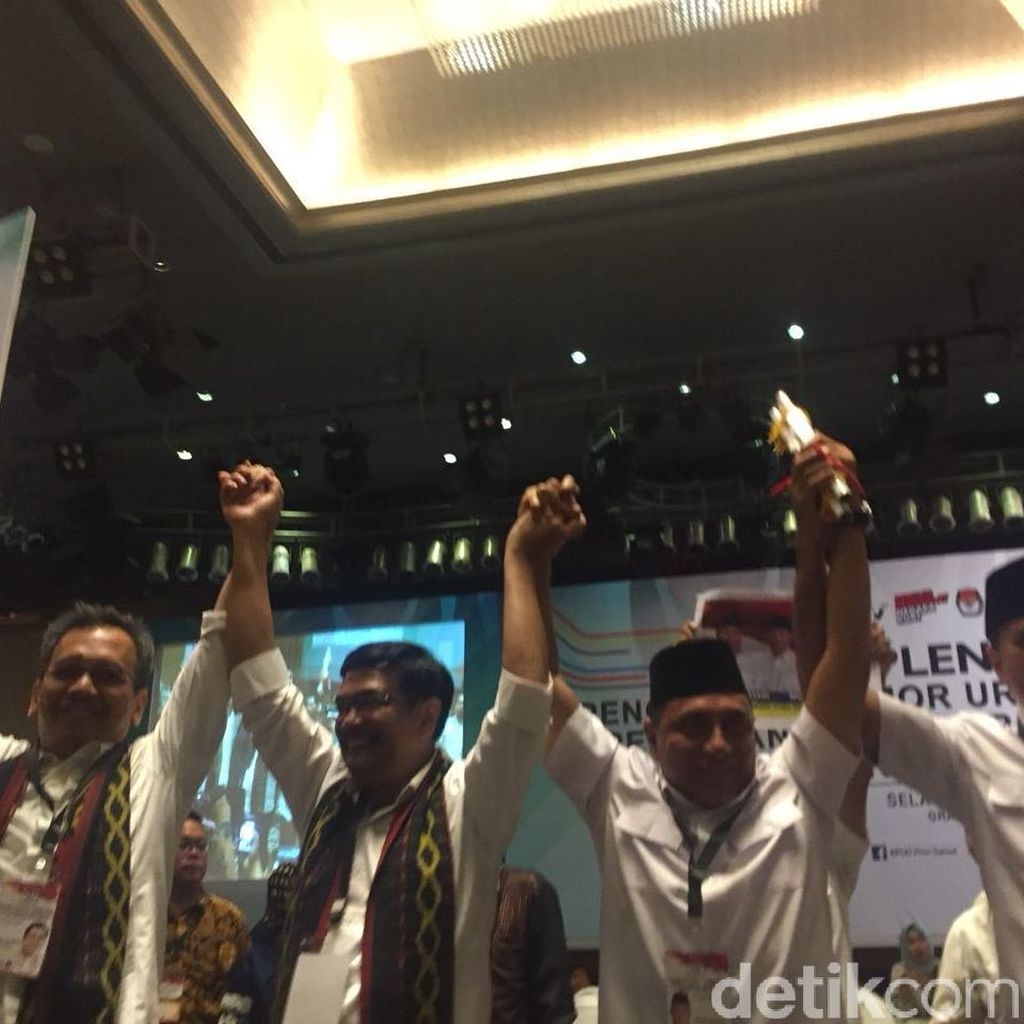 Persaingan Ketat Djarot dan Edy Rahmayadi versi Indo Barometer