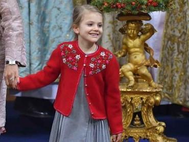 Lihat deh, Bun, cantik banget ya Putri Estelle. (Foto; Instagram @princessetelleofsweden)
