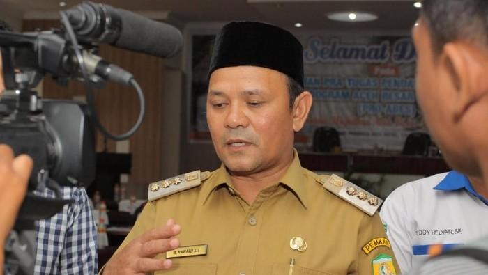 Bupati Aceh Besar Mawardi Ali