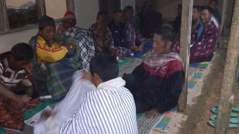Tanah Retak Paksa 26 Warga Ponorogo Mengungsi ke Tempat Aman