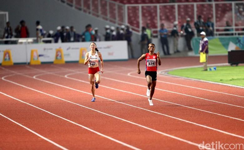 Hima Tercepat di Lari 200 Meter Putri