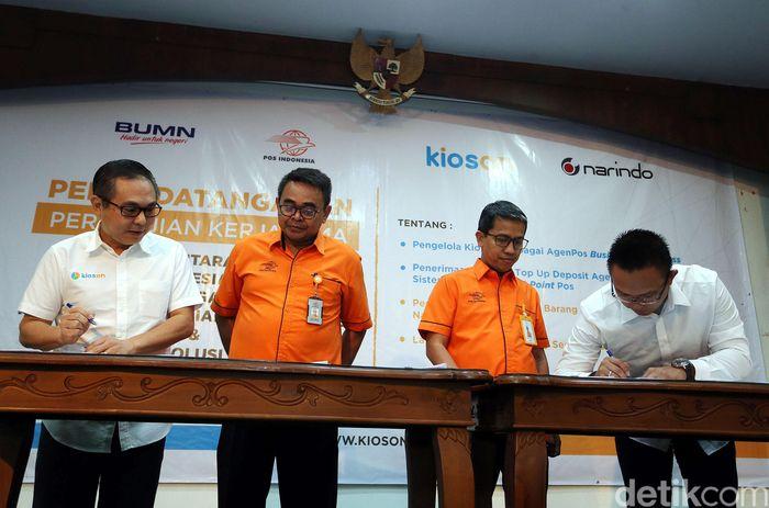 Penandatanganan kerja sama dilakukan di Jakarta, Selasa (13/2/2018).